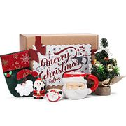 Red Christmas Decorations Festive Gift Sets, 5 Pcs