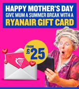 GIVE the GIFT of TRAVEL THIS MOTHER'S DAY - from £25