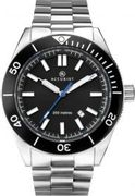ACCURIST SIGNATURE MENS BLACK DIAL 200M DIVERS WATCH - Only £62.99!