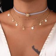 """Free"" Pentacle Sun Necklace (P&p 3.99)"
