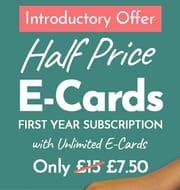 Half Price E-Card Annual Subscription