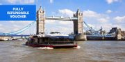 Best Price! £10 London: 24-Hour Hop-On, Hop-off Thames Cruise Ticket