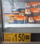 Quorn 10 Meat Free Vegan Fishless Fingers  200g