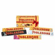 Toblerone Mixed Chocolate 5 Bar Gift Pack 500 G