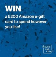 Win a £200 Amazon Gift Card