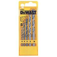 Dewalt Straight Shank Masonry Drill Bit Set 5 Pieces (96162)