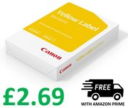 Canon Yellow Label A4 Printer Paper 80gsm - 500 Sheets
