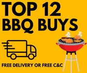 Best BBQ Deals From £3.50 All With Free Delivery or Free C&C