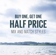 Buy One Get One Half Price with Fatface