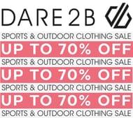 DARE 2B SALE - up to 70% off Sportwear, Ski & Outdoor