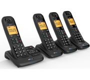 *SAVE £60* BT XD56 Cordless Phone with Answering Machine - Quad Handsets