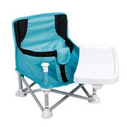 LIGHTNING DEAL - VEEYOO Travel Booster Seat with Removable Tray