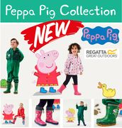 Who Loves PEPPA PIG? NEW KIDS CLOTHES & BOOTS - At Regatta Now!