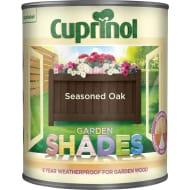 Cuprinol Brown Garden Shades Seasoned Oak Exterior Paint 1L