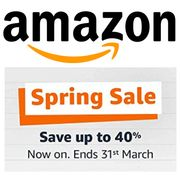 AMAZON SPRING SALE - Starts Monday 22nd March 2021