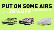 Foot Locker - 25% Off Nike Tuned Trainers - From £69.99 Delivered