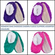 Cheap Snoozies Sherpa Fleece Slippers at Xs-stock