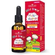 Natures Aid Mini Drops Multi-vitamin for Infants and Children, Sugar Free, 50 ml