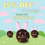 15% off All Cookies