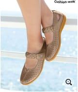 Touch Fasten Cushion Walk Shoes