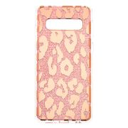Cheap Glitter Leopard Print Phone Case - Fits Samsung Galaxy S10 at Claire's