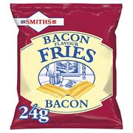 Smiths Savoury Snacks Bacon Fries Carded Pub - £8.6!