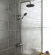Monza Chrome Thermostatic Shower