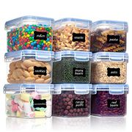 Plastic BPA Free Kitchen Pantry Flour Storage - Only £12.59!