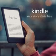 £15 OFF - Amazon Kindle | With Built-in Front Light (ALL COLOURS)