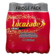 Lucozade Energy Original 6 X 380ml