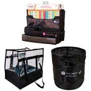 Totally Tiffany Black Workstation, Lois 2.0 Tote and Pop up Trash Can Collection