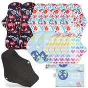 12 Pcs Reusable Sanitary Pads
