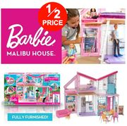 1/2 PRICE - Barbie Malibu House + FREE DELIVERY