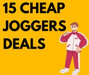 Cheap! Top 15 Joggers Deals From £5