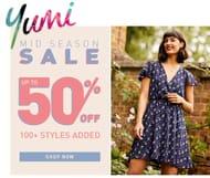 Yumi Mid-Season Sale - up to 50% OFF