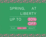 Up to 30% off   Spring Has Sprung