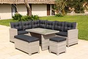 Backyard Luxury 10 Seater Furniture Barcelona - Only £509.99!