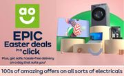 AO EASTER DEALS on ELECTRICALS
