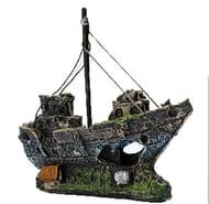 TMEOG Aquarium Ornaments, Resin Fishing Boat - Only £6.49!