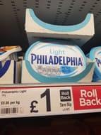 Philadelphia Light Soft Cheese  180g