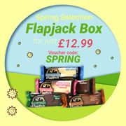 Spring Selection Flapjack Box for Only £12.99!