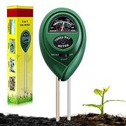 Soil PH Testing Kit 3 in 1 Plant Soil Tester Kit with PH
