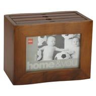 "Wooden Photo Album Box - 72 Photos (6 X 4"")"