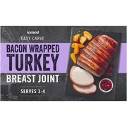 GLITCH?! 2 x Iceland Bacon Wrapped Basting Joints for £2 (Online Only)