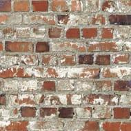Loft Brick Wallpaper Red