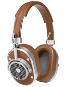 Master & Dynamic MH40 Over-Ear Headphones with Mic/Remote for iOS, Brown/Silver