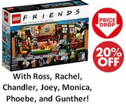 LEGO FRIENDS Central Perk Cafe 21319 - CHEAP PRICE!