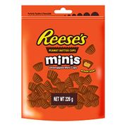 Half Price Reeses Mini Peanut Butter Cups Pouch 226 G
