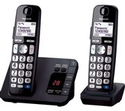 *SAVE £5* PANASONIC Cordless Phone - Twin Handsets