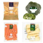 Selected Veg Just 20p per Pack -Broccoli, Baby Potatoes , Carrot & Parsnips